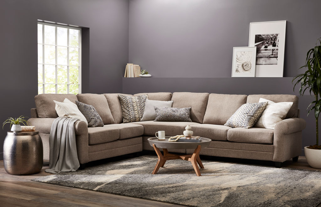 """""""This pretty, calming gray wraps you in its warm embrace with a touch of interesting but neutral violet."""" - Sue Kim, Valspar Sr. Color Designer"""