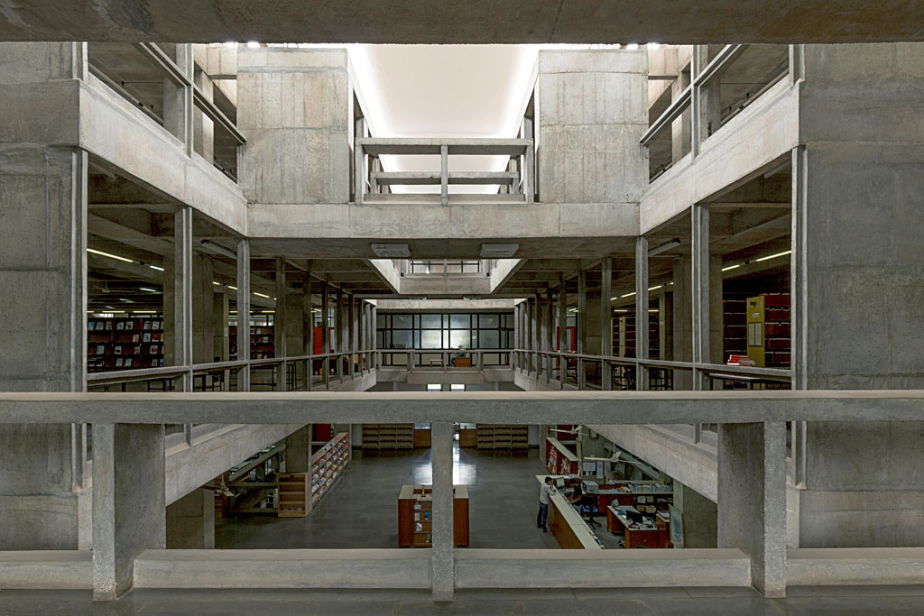 Indian Institute of Management, Bangalore. Photo courtesy of VSF. Courtesy of the Pritzker Architecture Prize