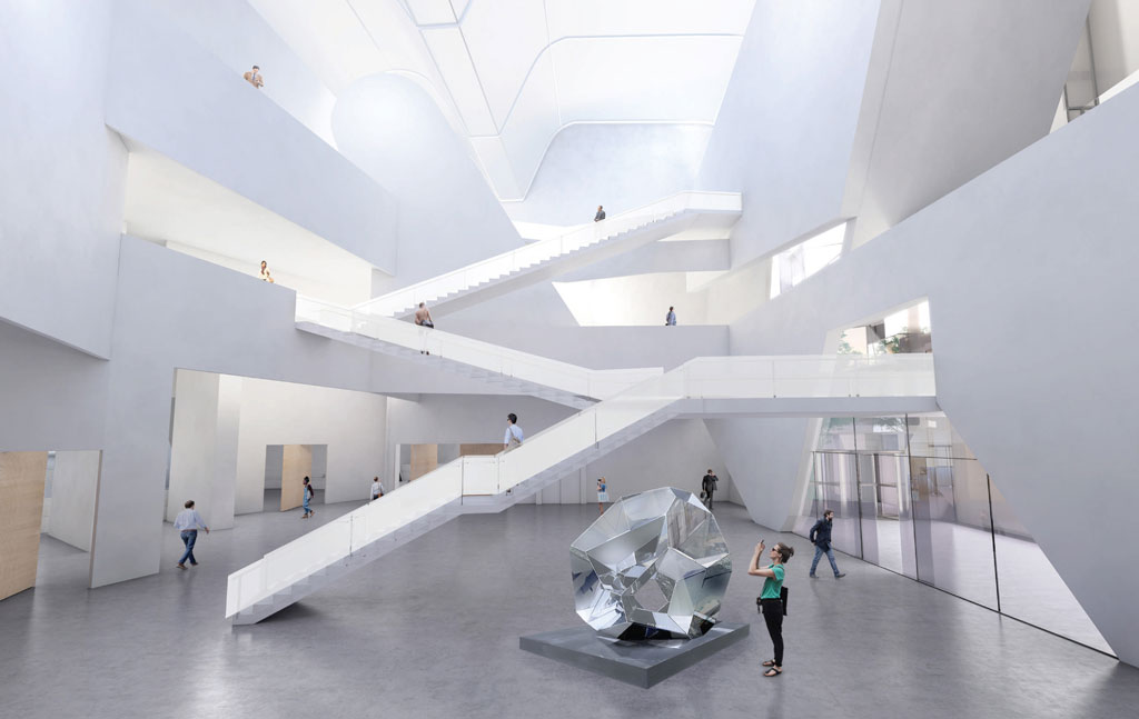 Courtesy of Steven Holl Architects and Compagnie de Phalsbourg