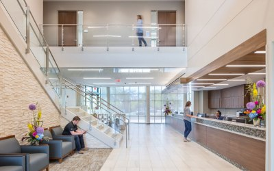 Hoefer Wysocki Completes design of Saint Luke's Multispecialty Clinic in Blue Springs