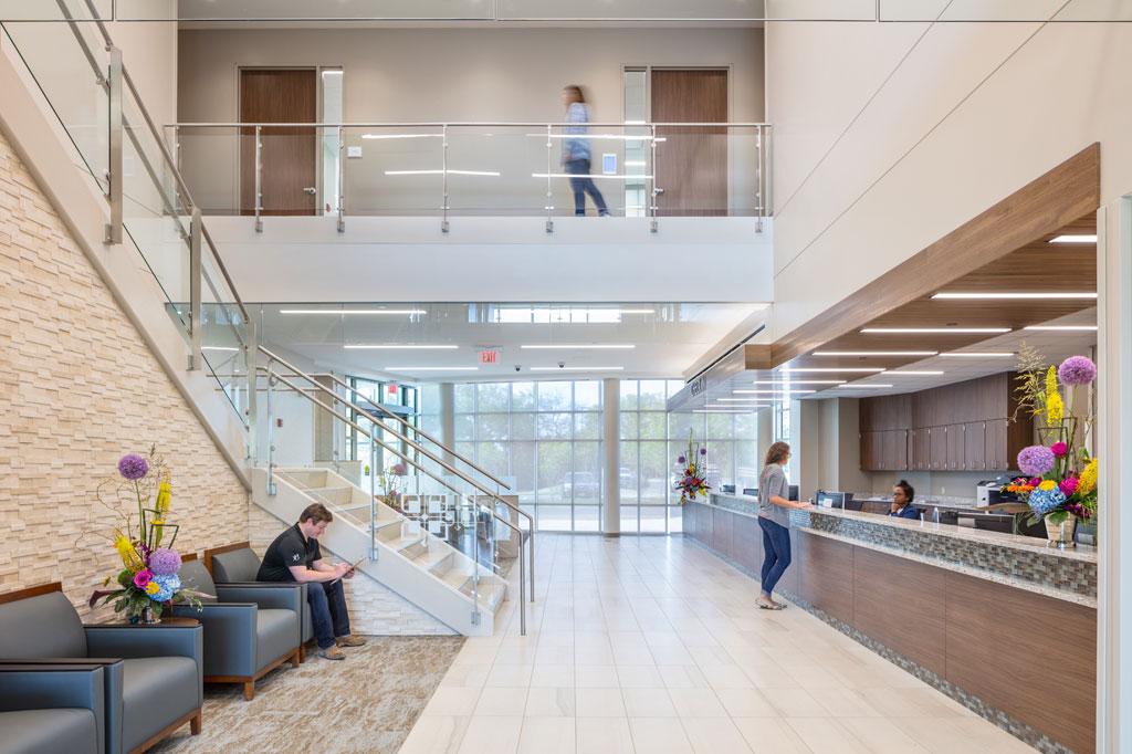 LEED Silver-certified Saint Luke's Multispecialty Clinic in Blue Springs, Missouri. Photo courtesy of Hoefer Wysocki