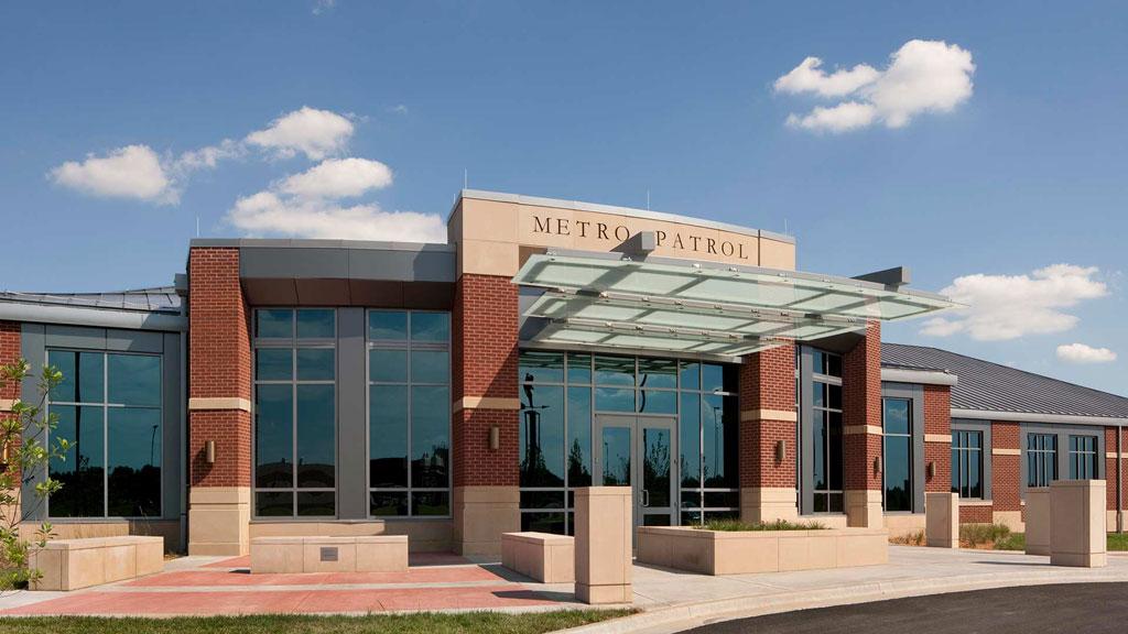 Metro Patrol Station, Kansas City. Photo courtesy of Hoefer Wyscoki