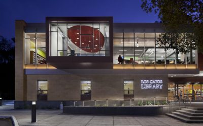 Los Gatos Library, California
