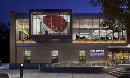Los Gatos Library, California