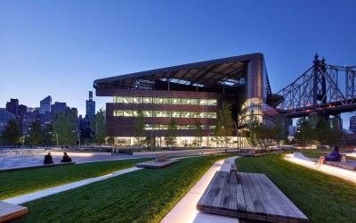 The Emma and Georgina Bloomberg Center at Cornell Tech, Roosevelt Island, New York