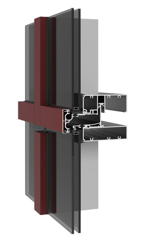 YUW 750 TU - Thermally Broken Unitized Curtain Wall System