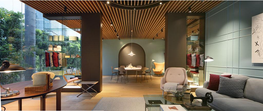 FritzHansen Showroom by Genius Loci – Indonesia. Credit: Fernando Gomulya