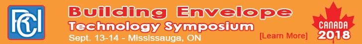 RCI, Inc. Canadian Building Envelope Technology Symposium