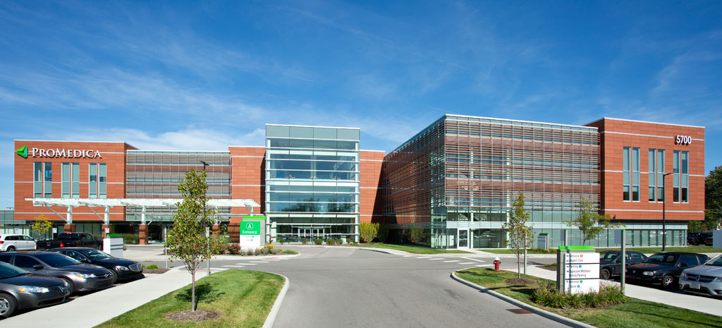 ProMedica Health and Wellness Center in Sylvania, Ohio. Credit: Jim Cunningham