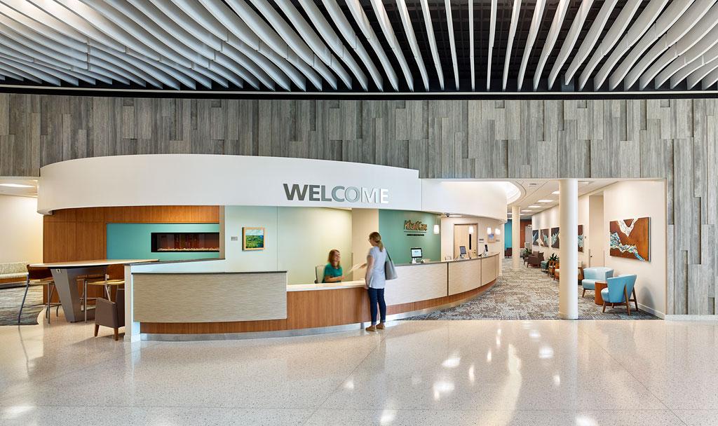 AtlantiCare, Manahawkin Medical Mall, Manahawkin, New Jersey. Photo credit: Jeffrey Totaro Architectural Photographer