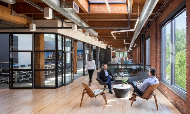Cuningham Group Renovation Blends Sustainability and WELL™ Technology in a Late-1800s Building