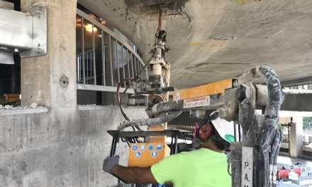 Western Specialty Contractors Uses Leading-Edge Concrete Repair Technology to Protect Workers on Parking Garage Restoration