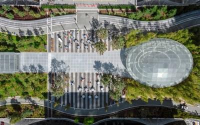 Vetrotech Saint-Gobain, Greenlite Glass provide key element to Salesforce Transit Center: Daylight