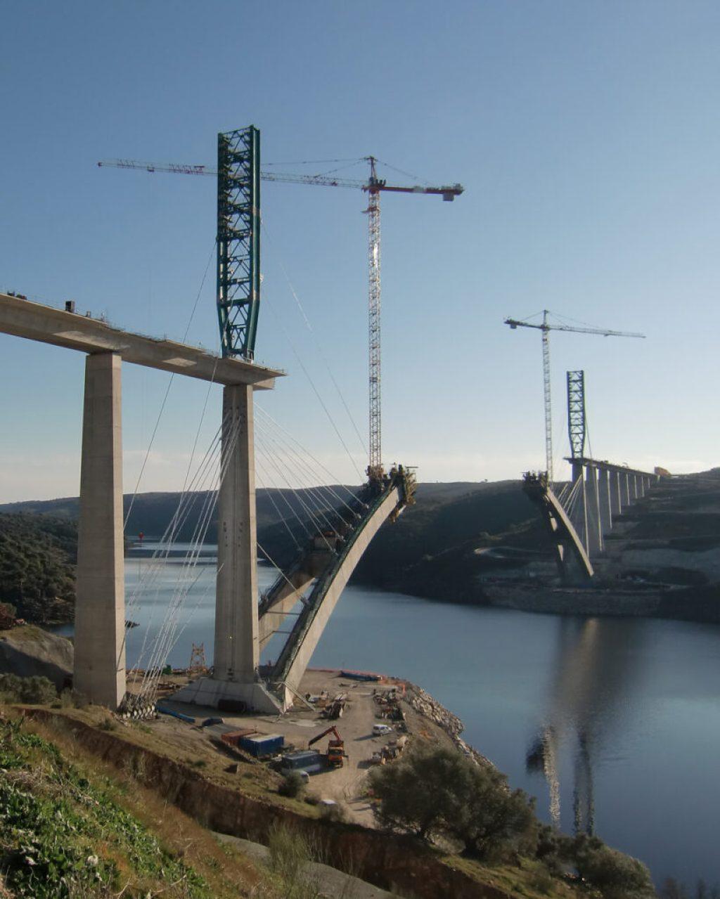 Viaduct Over River Almonte – Garrovillas de Alconétar, Cáceres, Extremadura, Spain. Credit: American Concrete Institute