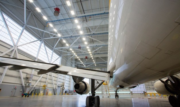 HAECO America's new hangar at PTI features energy-efficient, translucent, daylight system by EXTECH