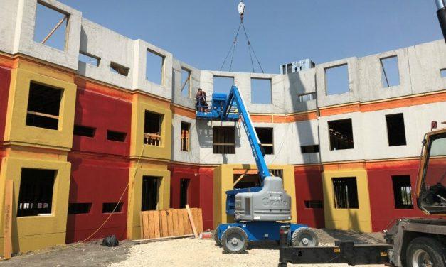 Building Up with Precast Concrete Panels