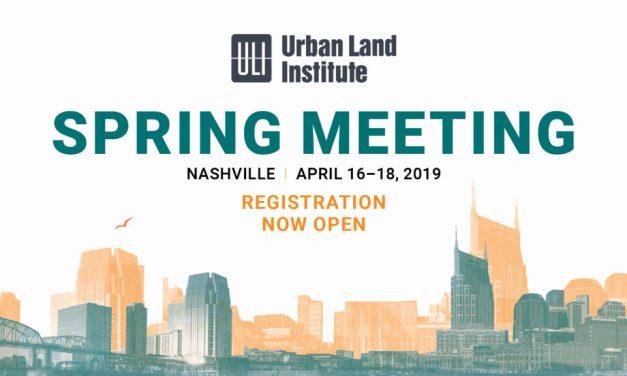 ULI Spring Meeting 2019