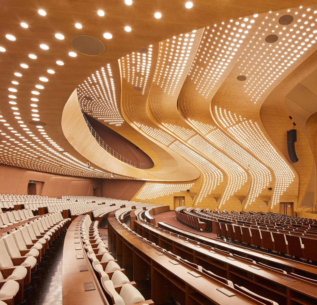 Nanjing International Youth Cultural Centre. Credit: ©Hufton+Crow, courtesy of Zaha Hadid Architects