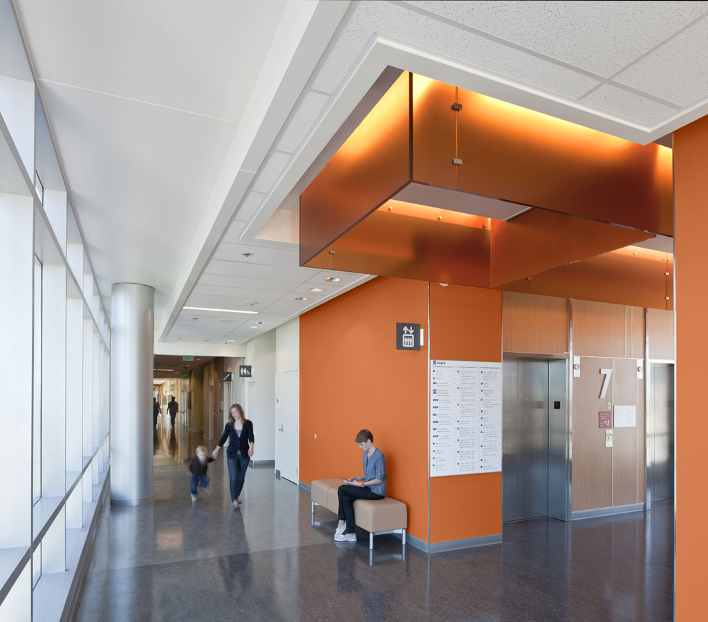 Fun-focused and lively colors make up Sherwin-Williams' Upbeat Energy palette to promote inspiration and motivation in areas like pediatrics and physical therapy.