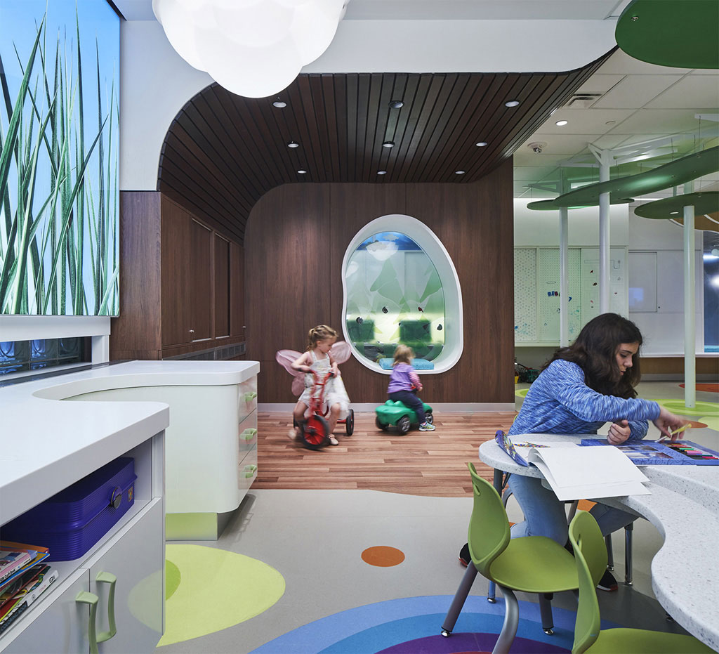 """When designing a children's space, """"don't just focus on technology. When designing for kids, we often tend to look at new technologies, such as interactive screens. But with this project, the focus was on play,"""" says Olivera Sipka. Photo credit: Richard Johnson"""