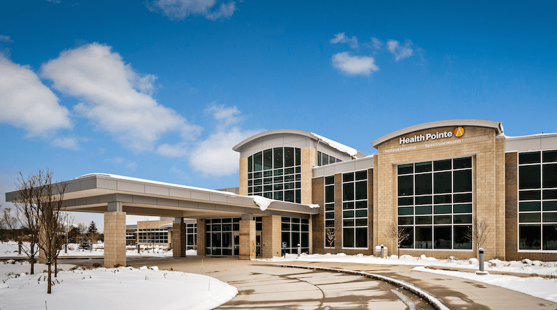 Health Pointe, an integrated healthcare facility in Grand Haven, MI. Photo credit: Joseph Stanford Photography
