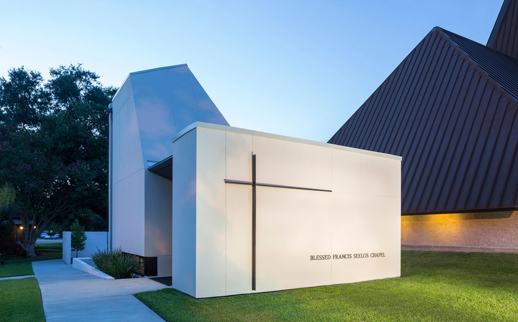 St. Pius Chapel and Prayer Garden, New Orleans. Photo credit: © Will Crocker