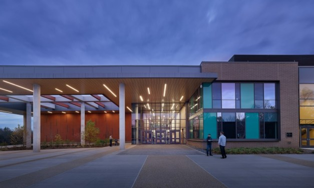 Stantec's design of the Academies of Loudoun integrates STEM and CTE programs