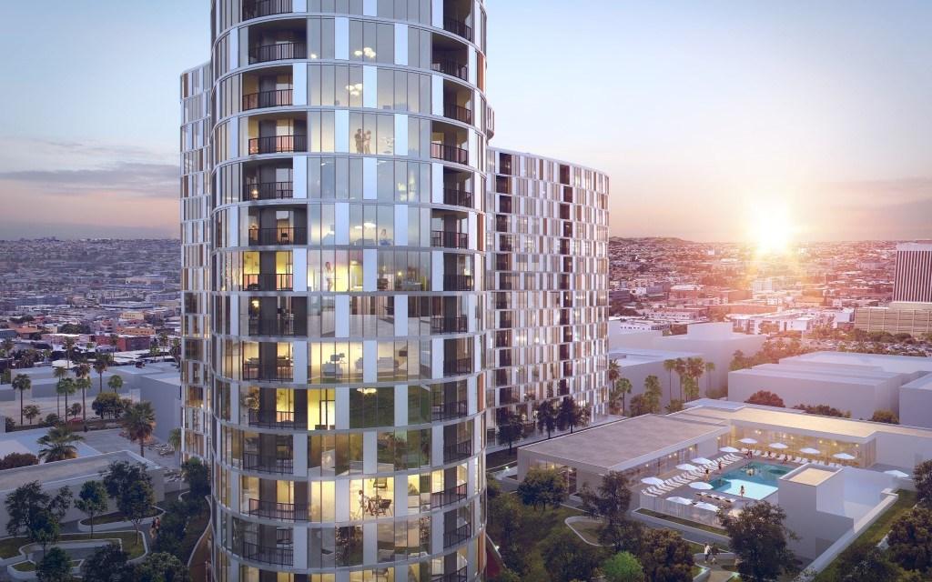 $300 million residential high-rise tower breaks ground in Koreatown