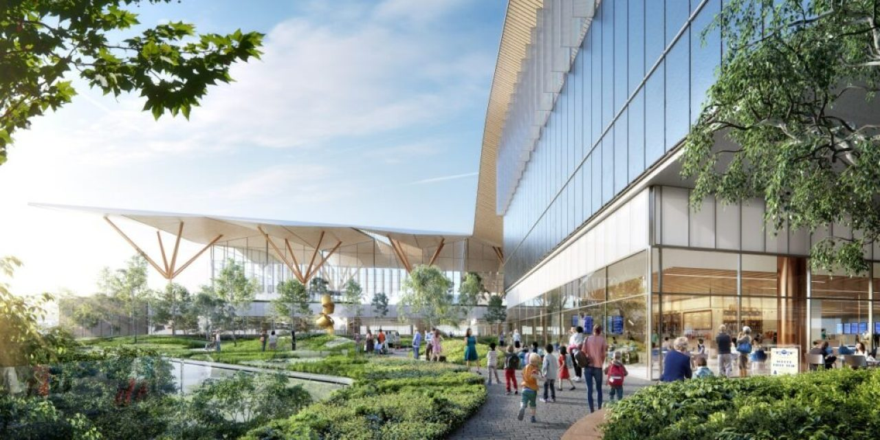 Nature, technology, and community meet in the concept design of Pittsburgh International Airport's Terminal Modernization Program