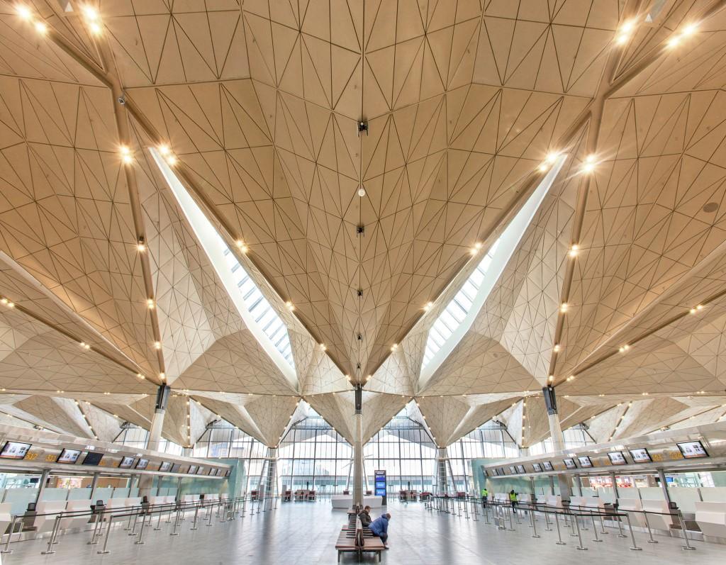 Pulkovo Airport in St Petersburg. Photo credit: Yuri Molodkovets