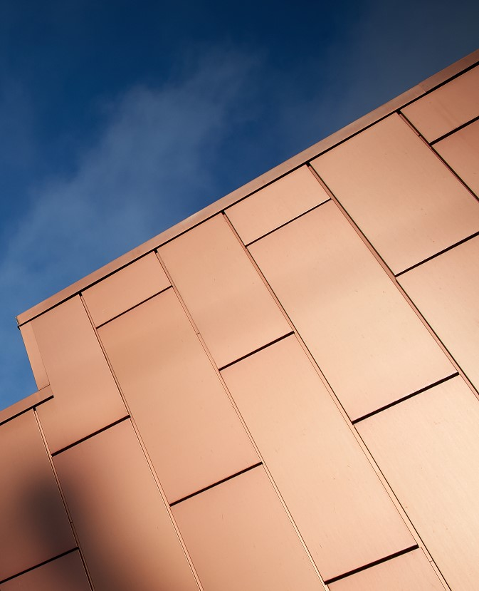 Lorin Anodized Copper Collection. Courtesy of Lorin Industries, Inc.