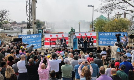 Construction begins on second phase of mile-long waterfront neighborhood in D.C.