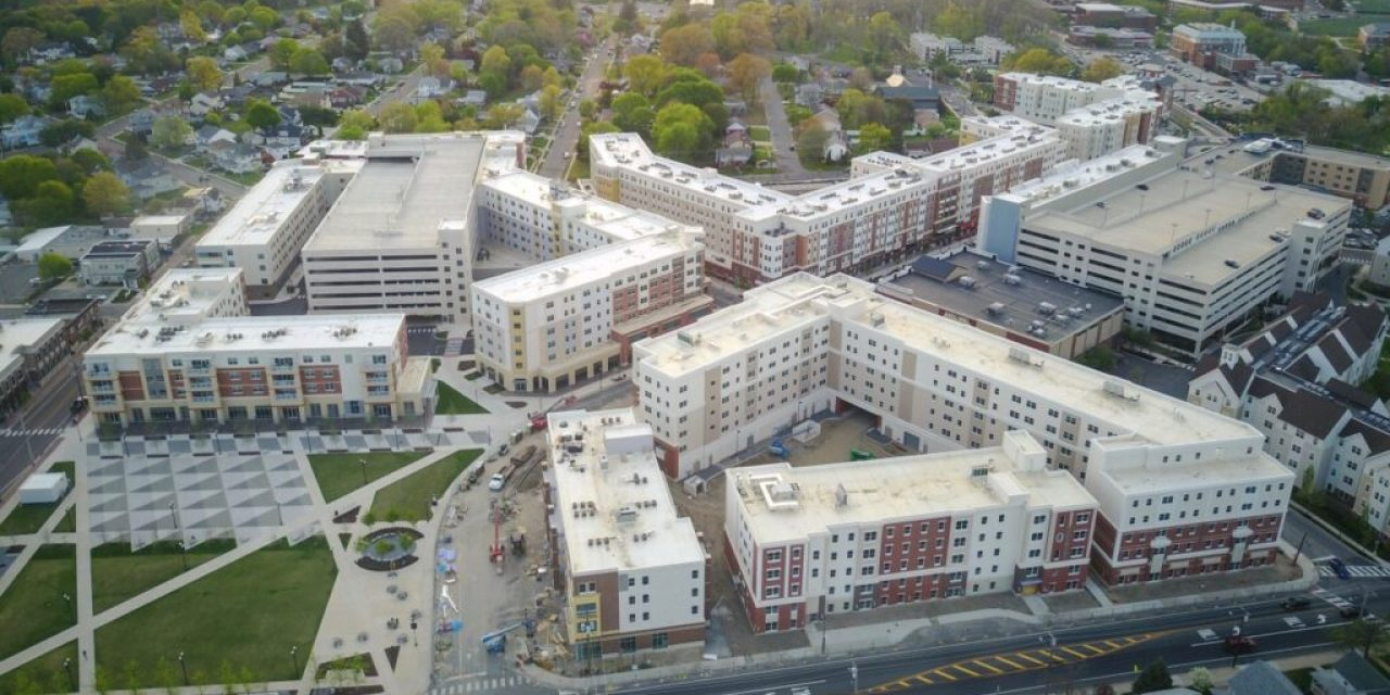Sto Panel Technology helps build student housing for Rowan University