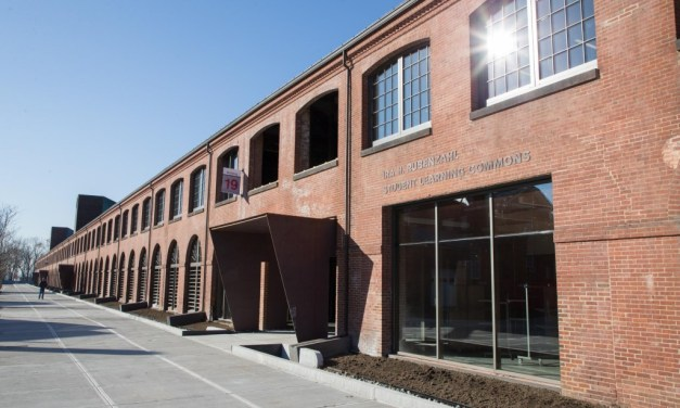 Historic armory transformed into student center with SCW3000 Series windows earns Preservation Massachusetts Robert H. Kuehn Award