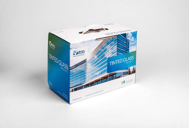 "In addition to the two new glass sample kits, Vitro Architectural Glass has debuted a new design for its Tinted Glass Design Kit. Included in this sample kit are 4"" x 6"" monolithic lites of popular tinted glasses by Vitro Glass. All sample kits can now be ordered through the Vitro Glass Literature and Fulfillment Center."