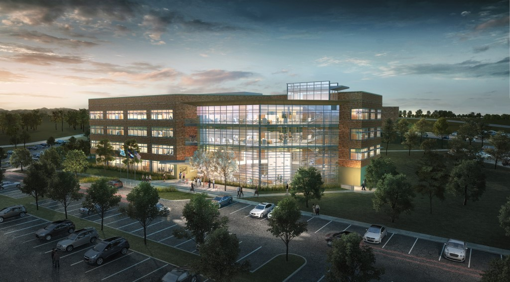 Ball Corporation's new headquarters building, Westminster, Colo. Courtesy of Stantec