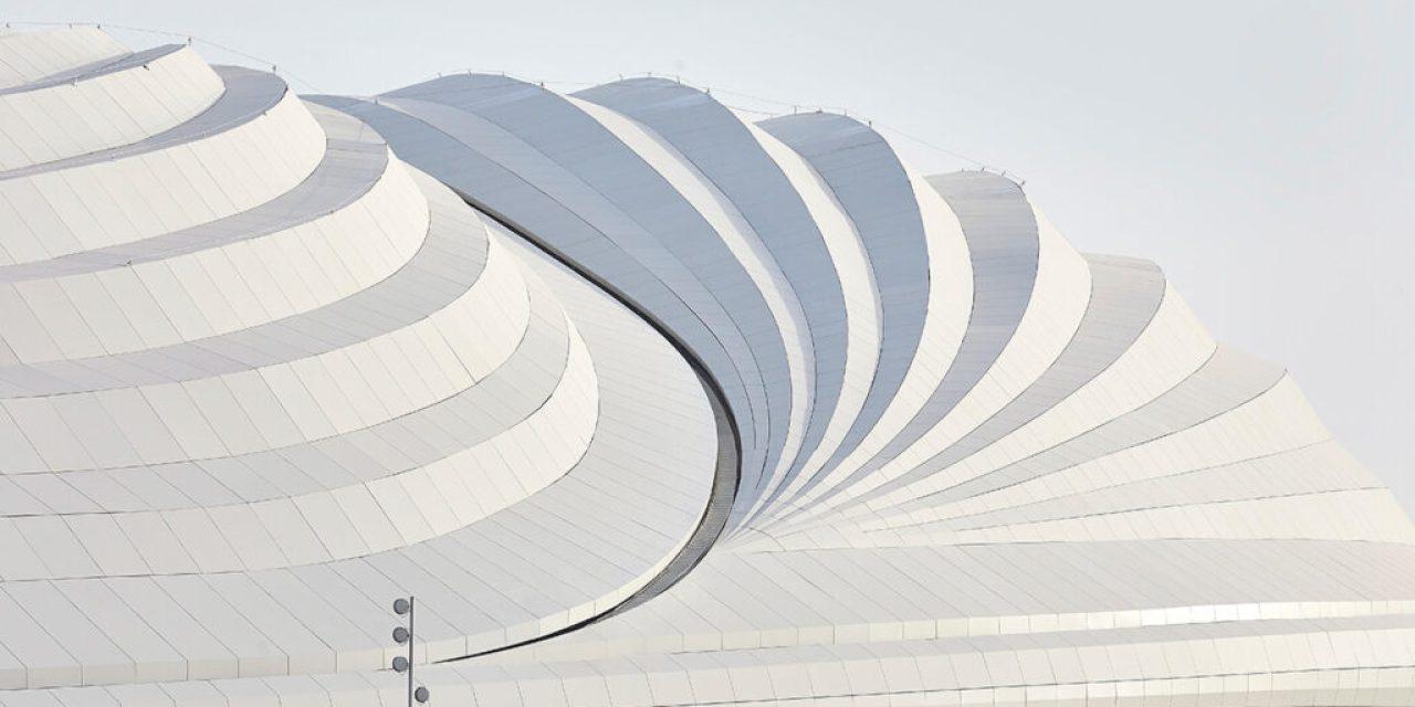 Al Janoub Stadium in Al Wakrah, Qatar, inaugurated