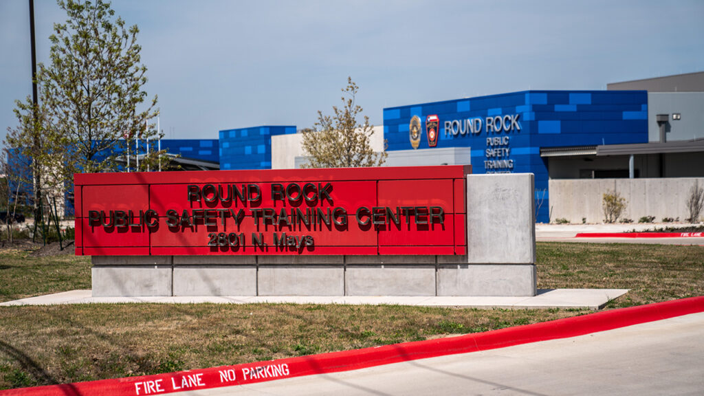 Round Rock Public Safety Training Center. Photo by Ethan Lankford, City of Round Rock, Texas