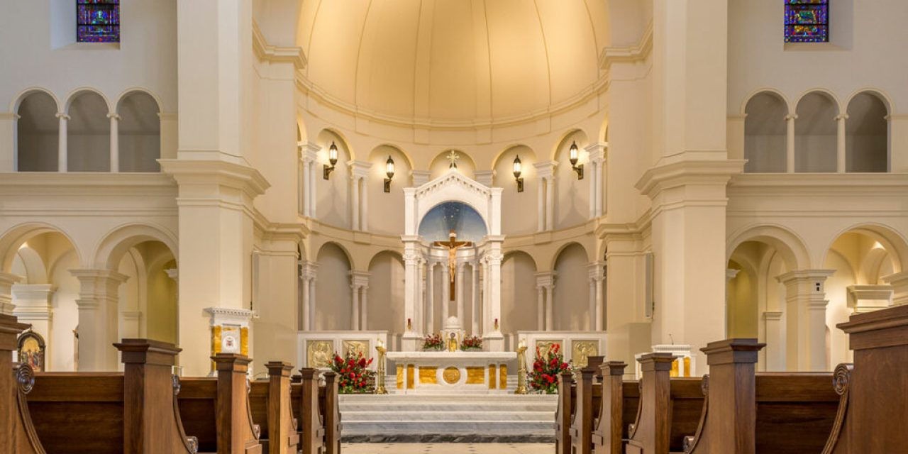 Holy Name of Jesus Cathedral in Raleigh, N.C.