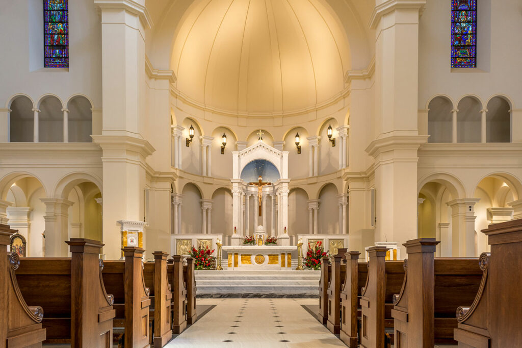 Holy Name of Jesus Cathedral in Raleigh, N.C. Photo credit: © Joseph K Fuller