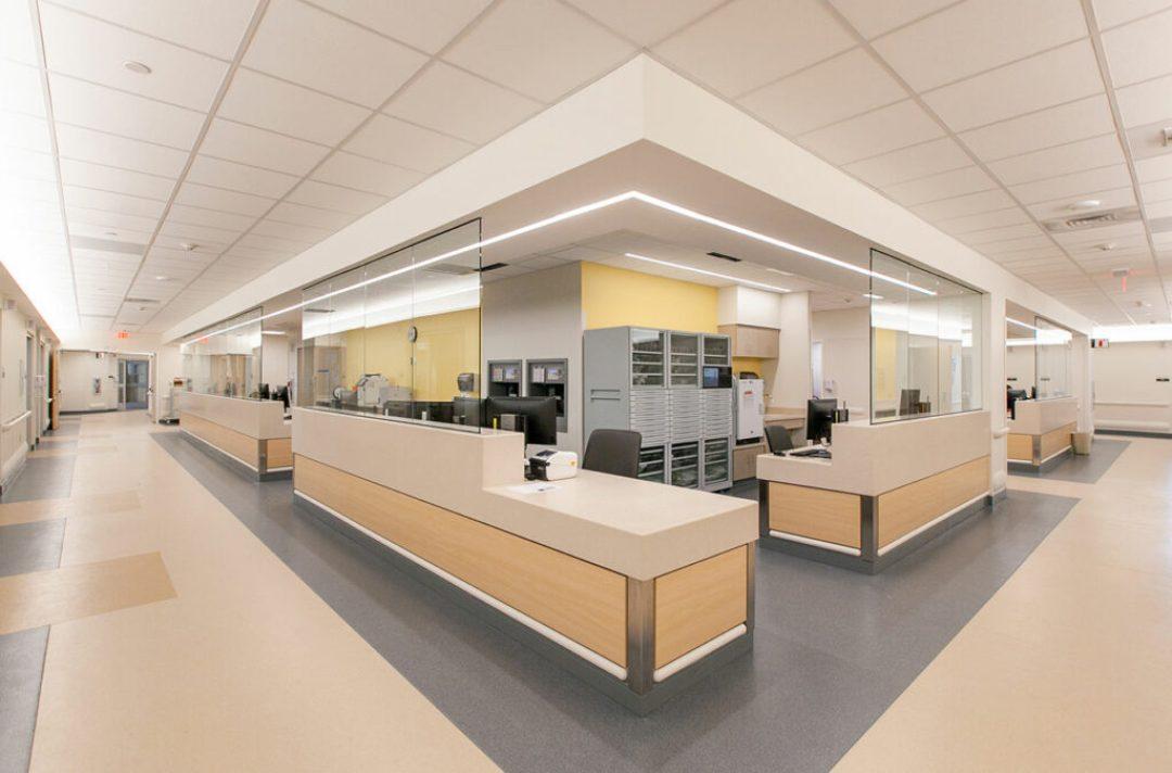 Medical Center East at Vanderbilt University Medical Center. Photo credit: Blair + Mui Dowd Architects