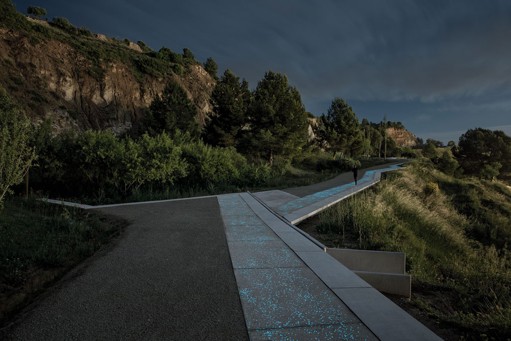 Landscape of the Year prize: Batlle i Roig Arquitectura – Pedestrian Path along the Gypsum Mines. Credit: Jordi Surroca, courtesy of World Architecture Festival and INSIDE 2018