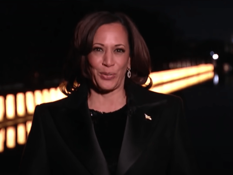Vice President Kamala Harris addresses the country for the first time after being sworn into office.