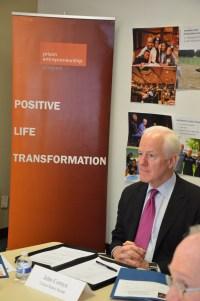 U.S. Senator John Cornyn Meeting with PEP's Leadership Team.
