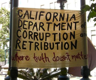 Banner: CA Dept of Corruption and Retribution