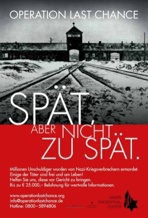 affiche simon wiesenthal center