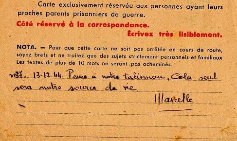avis de capture 1940 carte croix rouge française