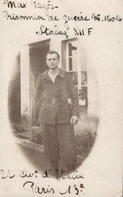 PRISONNIER DE GUERRE Max Pagès STALAG XII F