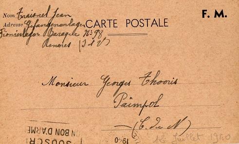 prisonniers de guerre français camp de prisonniers parc des sports à Rennes