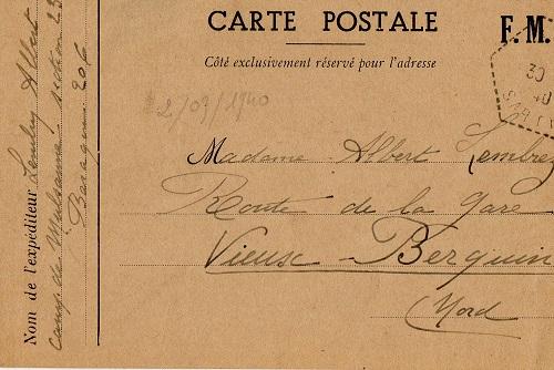 prisonniers de guerre français camp de Mulsanne